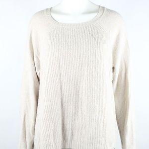 J. Crew Women's Cable Knit Sweater Merino Wool